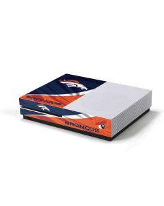 Denver Broncos Xbox One S Console Skin