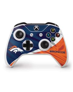 Denver Broncos Xbox One S Controller Skin