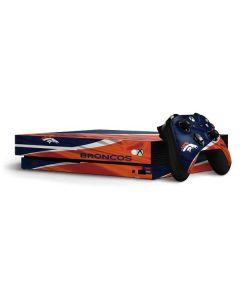 Denver Broncos Xbox One X Bundle Skin