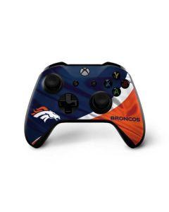 Denver Broncos Xbox One X Controller Skin