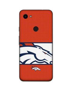 Denver Broncos Zone Block Google Pixel 3a Skin