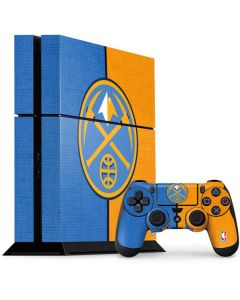 Denver Nuggets Canvas PS4 Console and Controller Bundle Skin