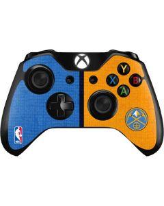 Denver Nuggets Canvas Xbox One Controller Skin