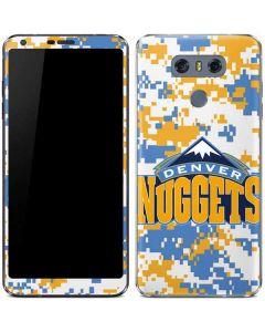 Denver Nuggets Digi Camo LG G6 Skin