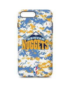 Denver Nuggets Digi Camo iPhone 8 Plus Pro Case
