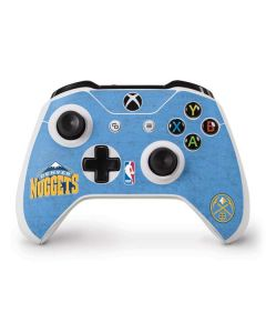 Denver Nuggets Distressed Xbox One S Controller Skin
