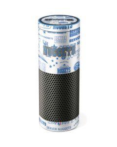 Denver Nuggets Historic Blast Amazon Echo Skin