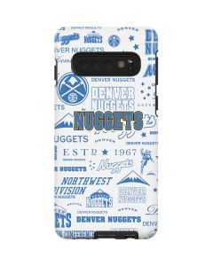 Denver Nuggets Historic Blast Galaxy S10 Pro Case