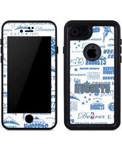Denver Nuggets Historic Blast iPhone 8 Waterproof Case