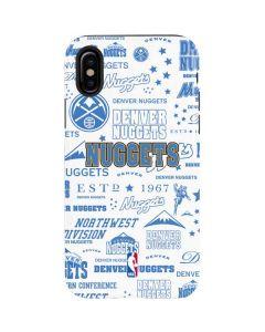 Denver Nuggets Historic Blast iPhone X Pro Case