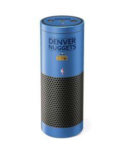 Denver Nuggets Standard - Light Blue Amazon Echo Skin