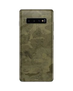 Desert Camo Galaxy S10 Plus Skin