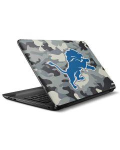 Detriot Lions Camo HP Notebook Skin