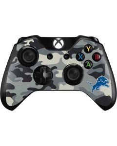 Detriot Lions Camo Xbox One Controller Skin