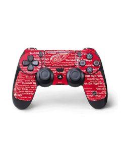 Detriot Redwings Blast PS4 Pro/Slim Controller Skin
