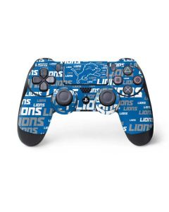 Detroit Lions - Blast Alternate PS4 Controller Skin