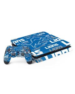 Detroit Lions - Blast Alternate PS4 Slim Bundle Skin