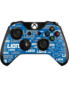Detroit Lions - Blast Alternate Xbox One Controller Skin