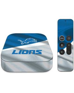 Detroit Lions Apple TV Skin
