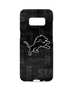 Detroit Lions Black & White Galaxy S8 Plus Lite Case