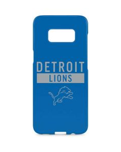 Detroit Lions Blue Performance Series Galaxy S8 Plus Lite Case