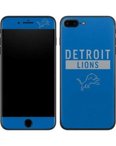 Detroit Lions Blue Performance Series iPhone 8 Plus Skin