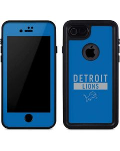 Detroit Lions Blue Performance Series iPhone 8 Waterproof Case