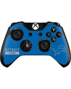 Detroit Lions Blue Performance Series Xbox One Controller Skin
