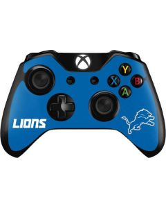 Detroit Lions Distressed Xbox One Controller Skin