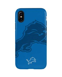 Detroit Lions Double Vision iPhone XS Max Pro Case