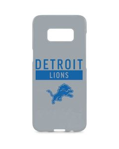 Detroit Lions Grey Performance Series Galaxy S8 Plus Lite Case