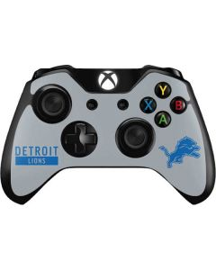 Detroit Lions Grey Performance Series Xbox One Controller Skin