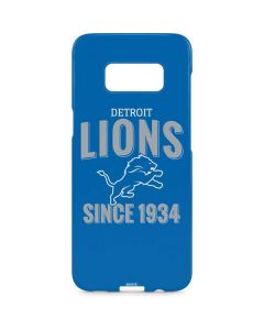 Detroit Lions Helmet Galaxy S8 Plus Lite Case