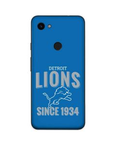 Detroit Lions Helmet Google Pixel 3a Skin