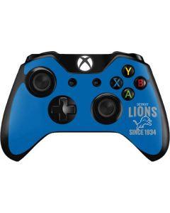 Detroit Lions Helmet Xbox One Controller Skin