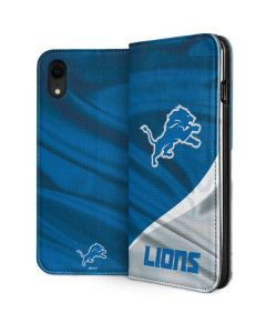 Detroit Lions iPhone XR Folio Case