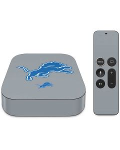 Detroit Lions Large Logo Apple TV Skin