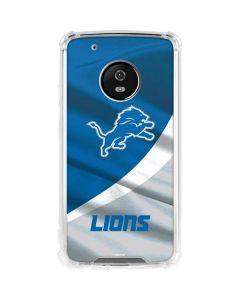 Detroit Lions Moto G5 Plus Clear Case