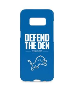 Detroit Lions Team Motto Galaxy S8 Plus Lite Case