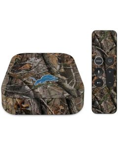 Detroit Lions Realtree AP Camo Apple TV Skin