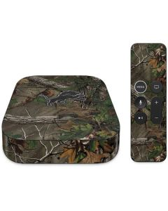 Detroit Lions Realtree Xtra Green Camo Apple TV Skin