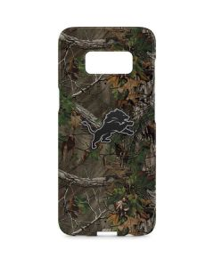 Detroit Lions Realtree Xtra Green Camo Galaxy S8 Plus Lite Case