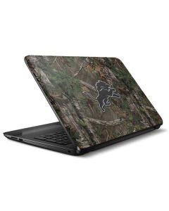 Detroit Lions Realtree Xtra Green Camo HP Notebook Skin