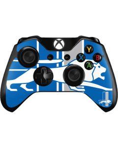 Detroit Lions Retro Logo Xbox One Controller Skin