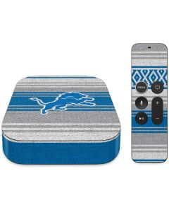Detroit Lions Trailblazer Apple TV Skin