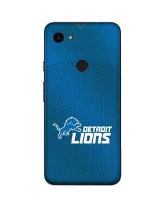 Detroit Lions Team Jersey Google Pixel 3a Skin