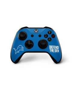 Detroit Lions Team Motto Xbox One X Controller Skin