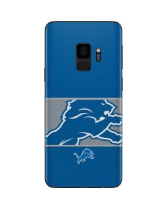 Detroit Lions Zone Block Galaxy S9 Skin