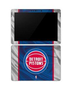 Detroit Pistons Away Jersey Surface Go Skin