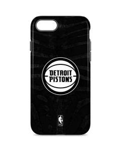 Detroit Pistons Black Animal Print iPhone 7 Pro Case